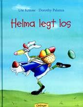 """Buchumschlag """"Helma legt los"""""""