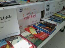 Bild zur Kinder- und Jugendbuchausstellung zum Thema Demokratie