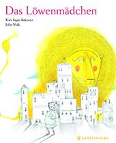 Cover Kim Fupz Aakeson, Das Löwenmädchen