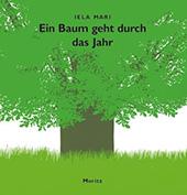 """Buchumschlag Iela Mari, """"Ein Baum geht durch das Jahr"""""""