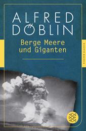 Cover zu Alfred Döblin, Berge, Meere und Giganten