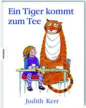 Cover Judith Kerr, Ein Tiger kommt zum Tee