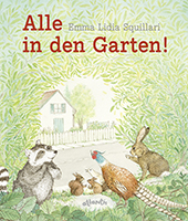 Cover Squillari, Alle in den Garten