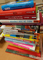 Bild zu Bücher für den Buchworkshop mit Yuki