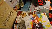 Bilder Bücher für die Workshops zu Europa