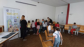 Bild Workshop Yuki UNHCR 2019 Kindergruppe