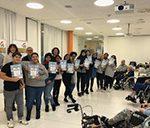 Bild abschließendes Gruppenfoto am Vorlesetag im PLE