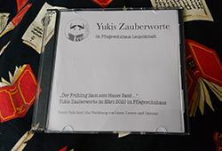 """Bild der CD mit den Frühlingsgedichten von """"Yuki liest!"""""""