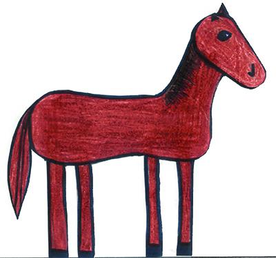 Bild Belinay liebt Pferde