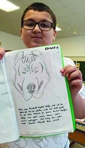 Bild Aras und sein Hund