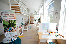 Bild zum Wissensraum des Science Center Netzwerks.